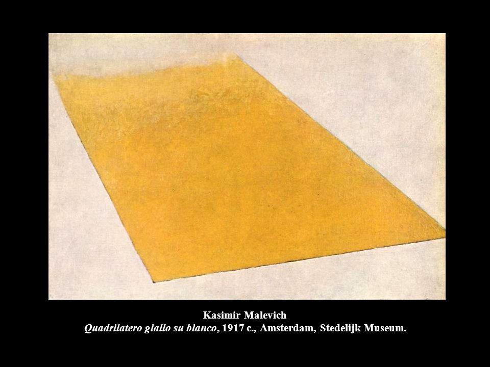 Kasimir Malevich Quadrilatero giallo su bianco, 1917 c