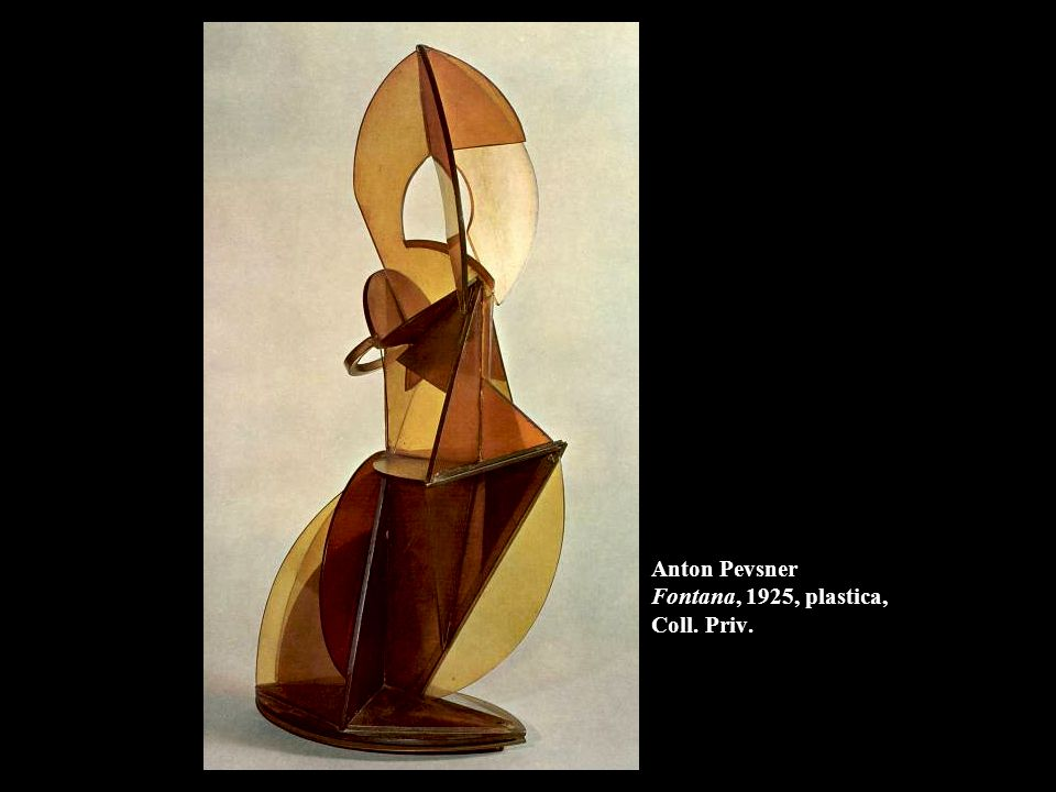 Anton Pevsner Fontana, 1925, plastica, Coll. Priv.