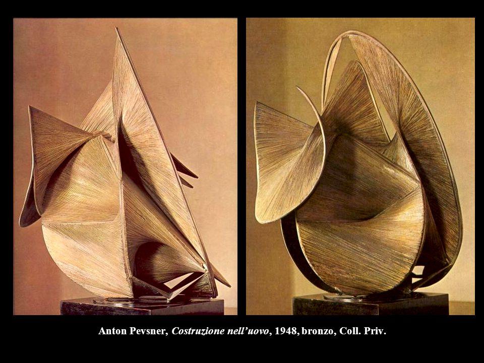 Anton Pevsner, Costruzione nell'uovo, 1948, bronzo, Coll. Priv.
