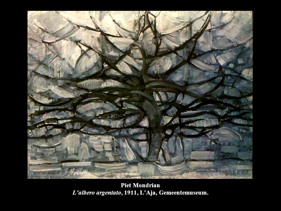 Piet Mondrian L'albero argentato, 1911, L'Aja, Gemeentemuseum.