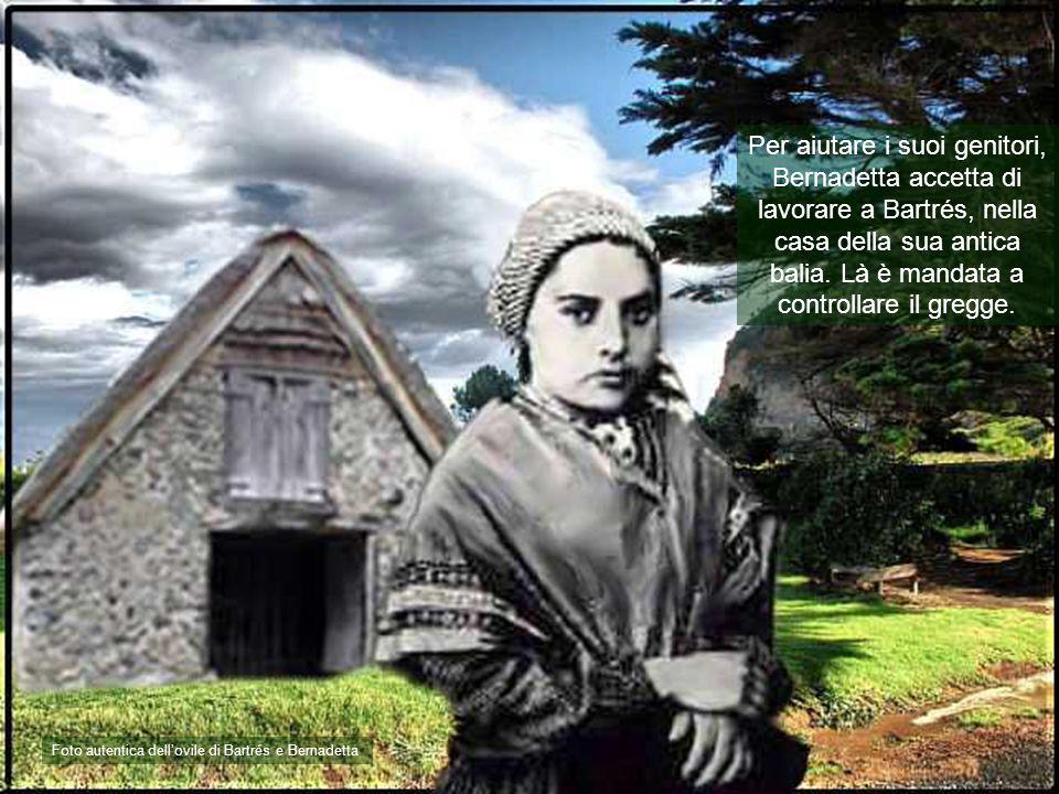 Per aiutare i suoi genitori, Bernadetta accetta di lavorare a Bartrés, nella casa della sua antica balia. Là è mandata a controllare il gregge.