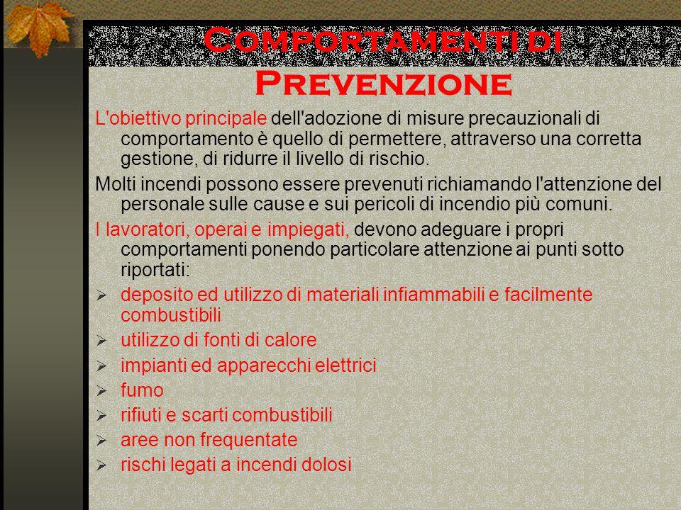 Comportamenti di Prevenzione