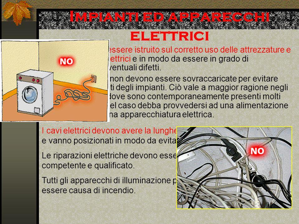 Impianti ed apparecchi elettrici