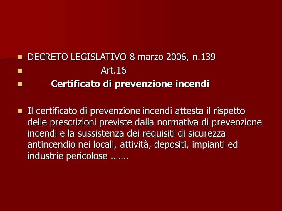 DECRETO LEGISLATIVO 8 marzo 2006, n.139