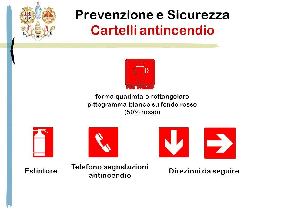Prevenzione e Sicurezza Cartelli antincendio