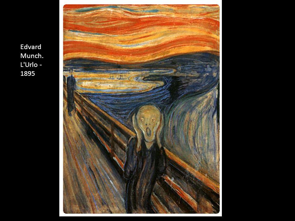 Edvard Munch. L Urlo - 1895