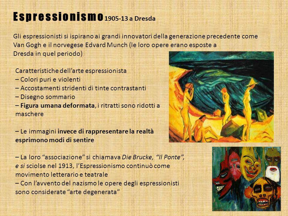 Espressionismo1905-13 a Dresda