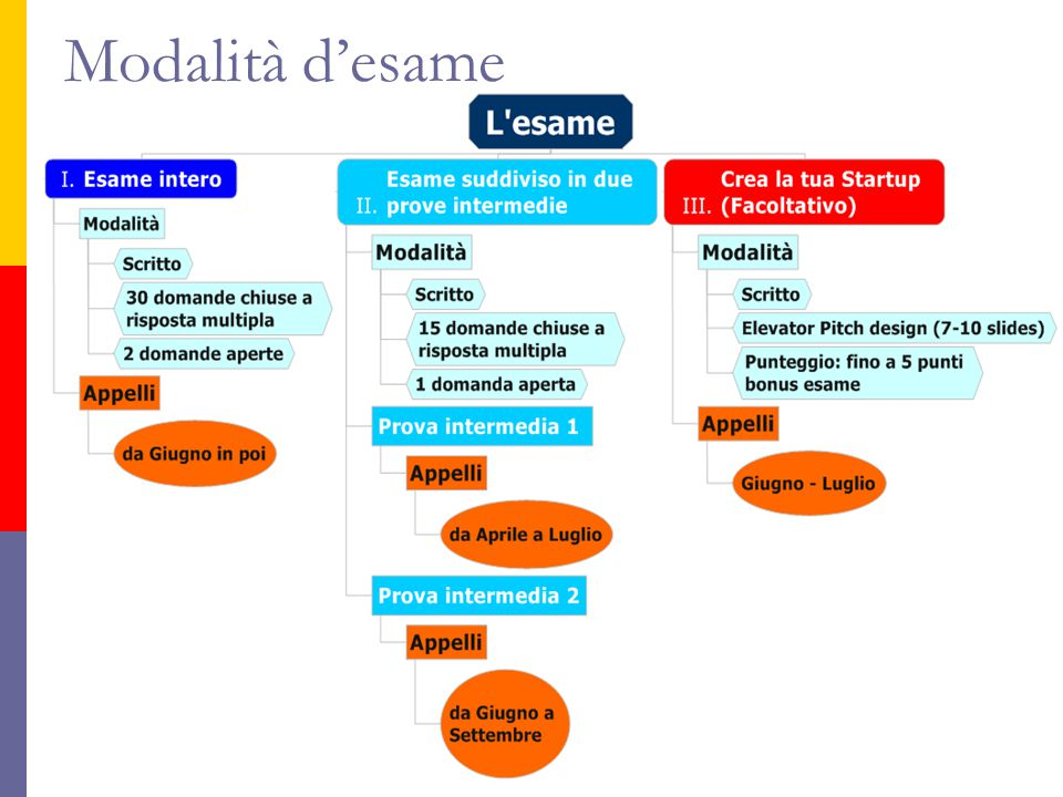 Modalità d'esame A.A. 2013-2014 Francesca Cabiddu 13