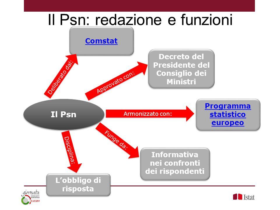 Il Psn: redazione e funzioni