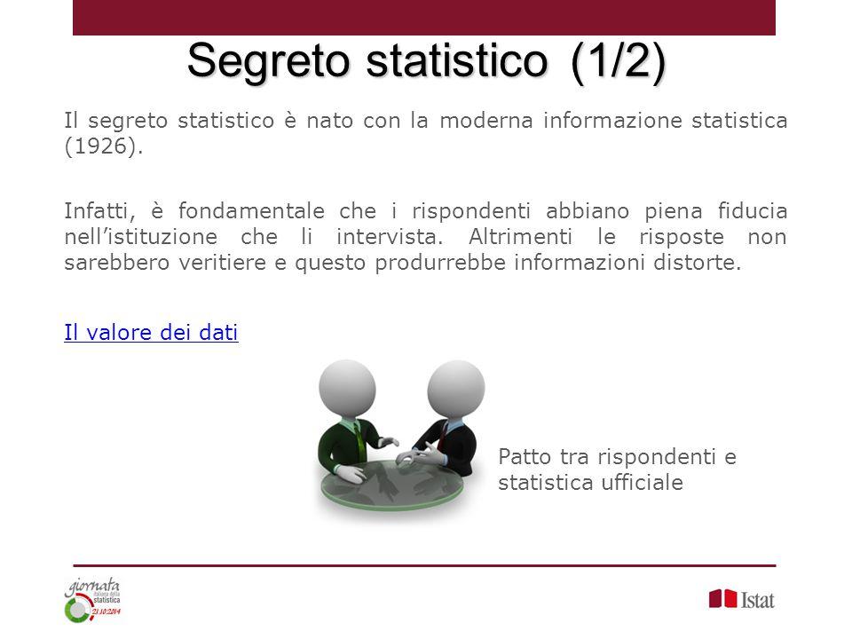 Segreto statistico (1/2)