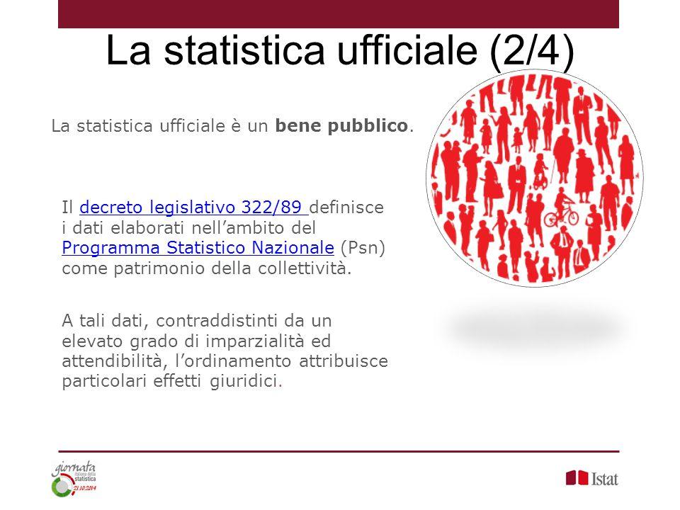 La statistica ufficiale (2/4)
