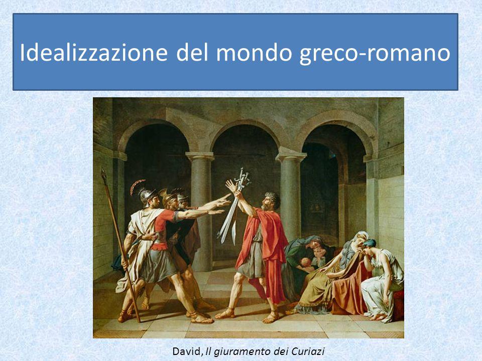 Idealizzazione del mondo greco-romano