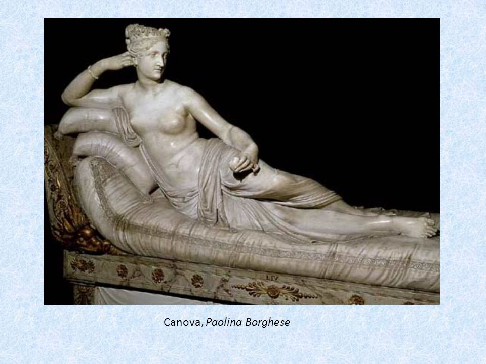Canova, Paolina Borghese