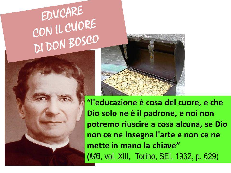 EDUCARE CON IL CUORE DI DON BOSCO