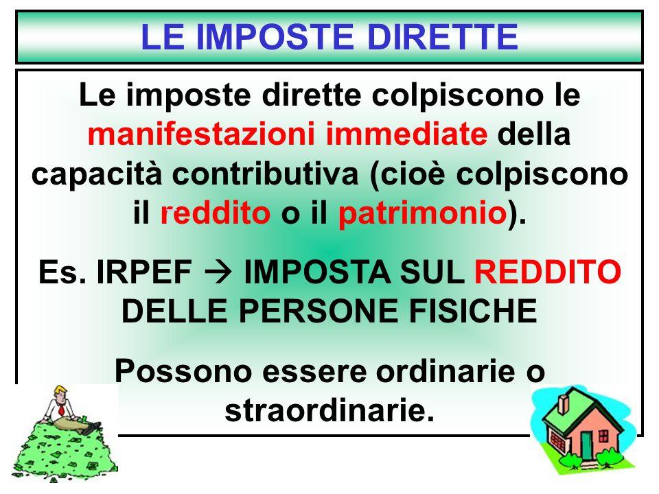 LE IMPOSTE DIRETTE