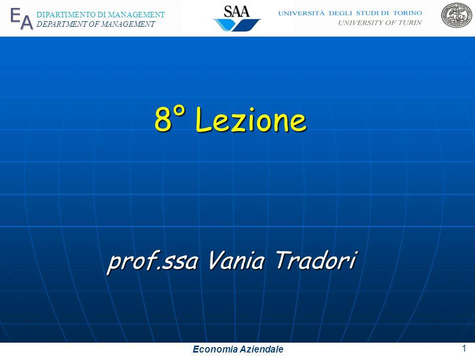 8° Lezione prof.ssa Vania Tradori