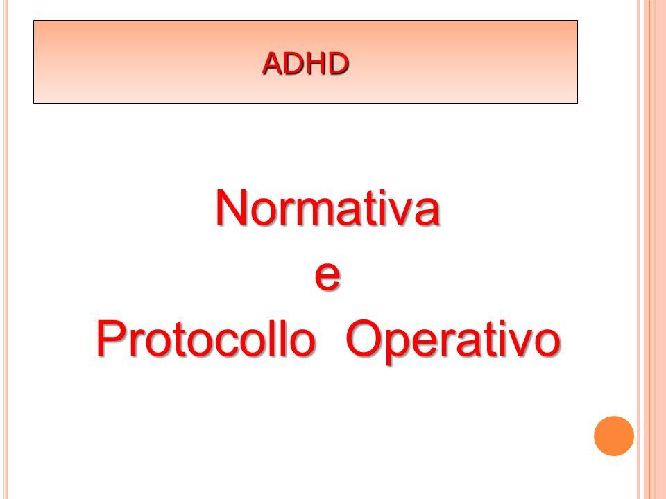 Normativa e Protocollo Operativo