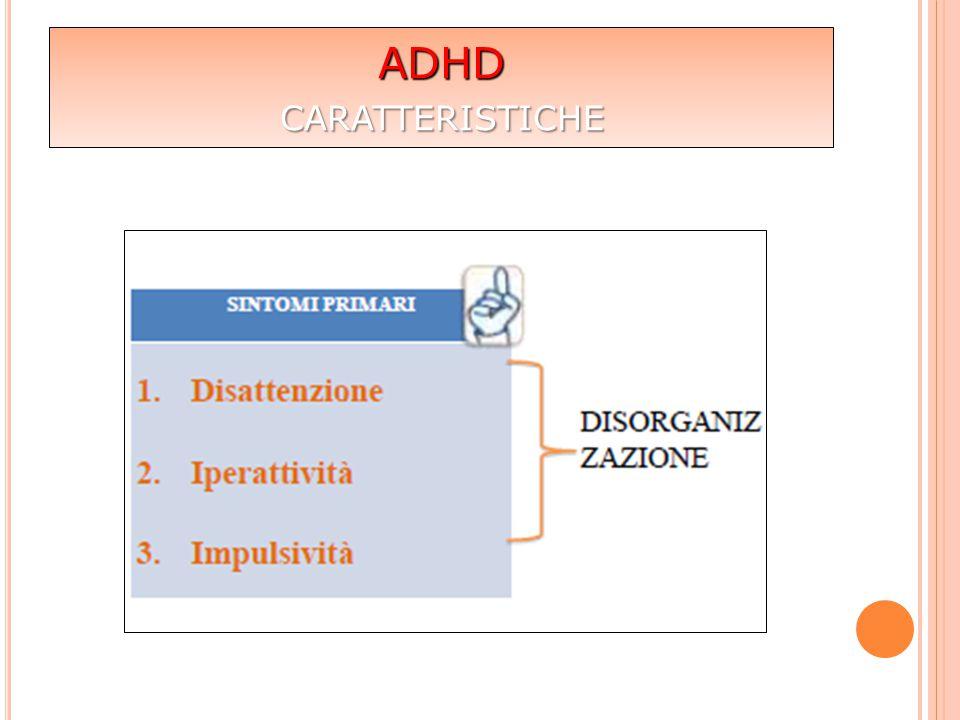 ADHD caratteristiche