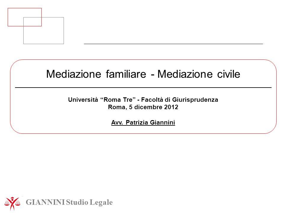 Università Roma Tre - Facoltà di Giurisprudenza