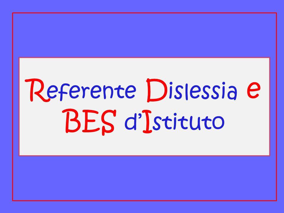 Referente Dislessia e BES d'Istituto