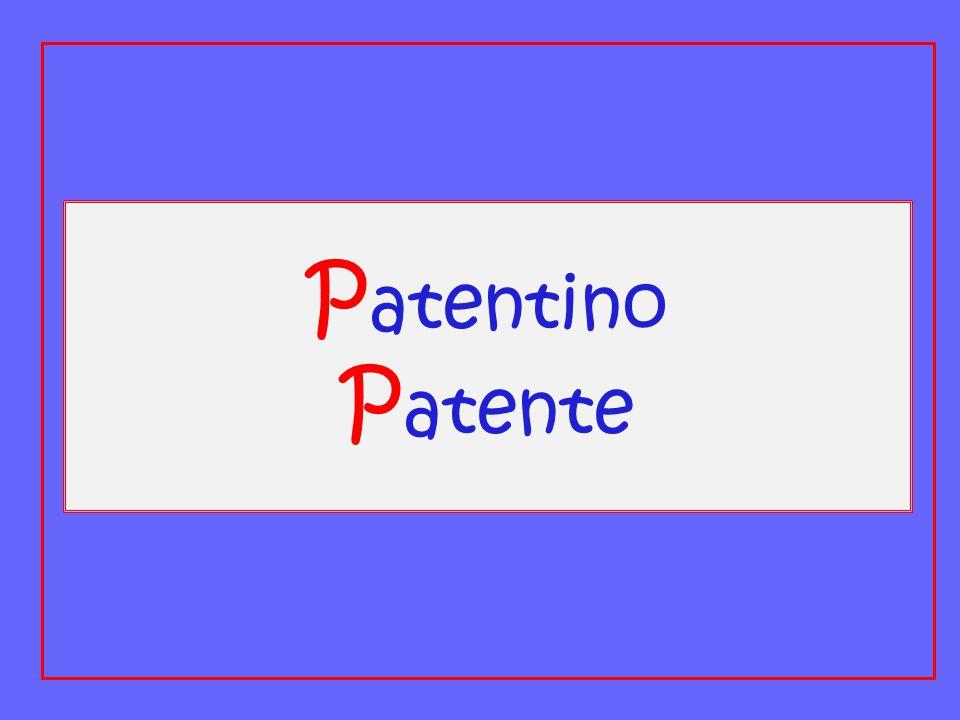 Patentino Patente