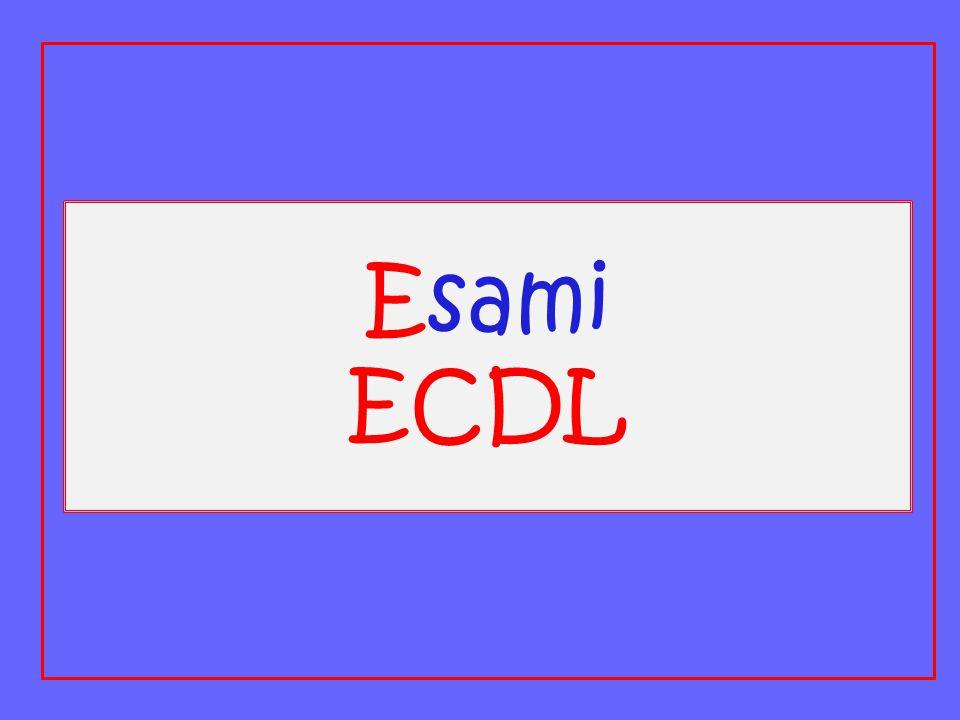 Esami ECDL