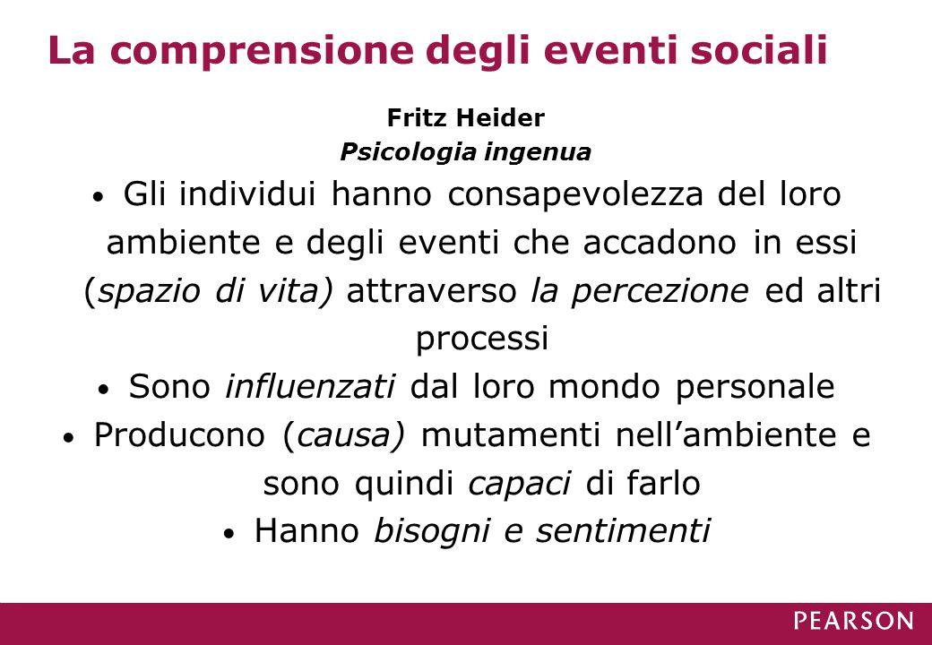 La comprensione degli eventi sociali