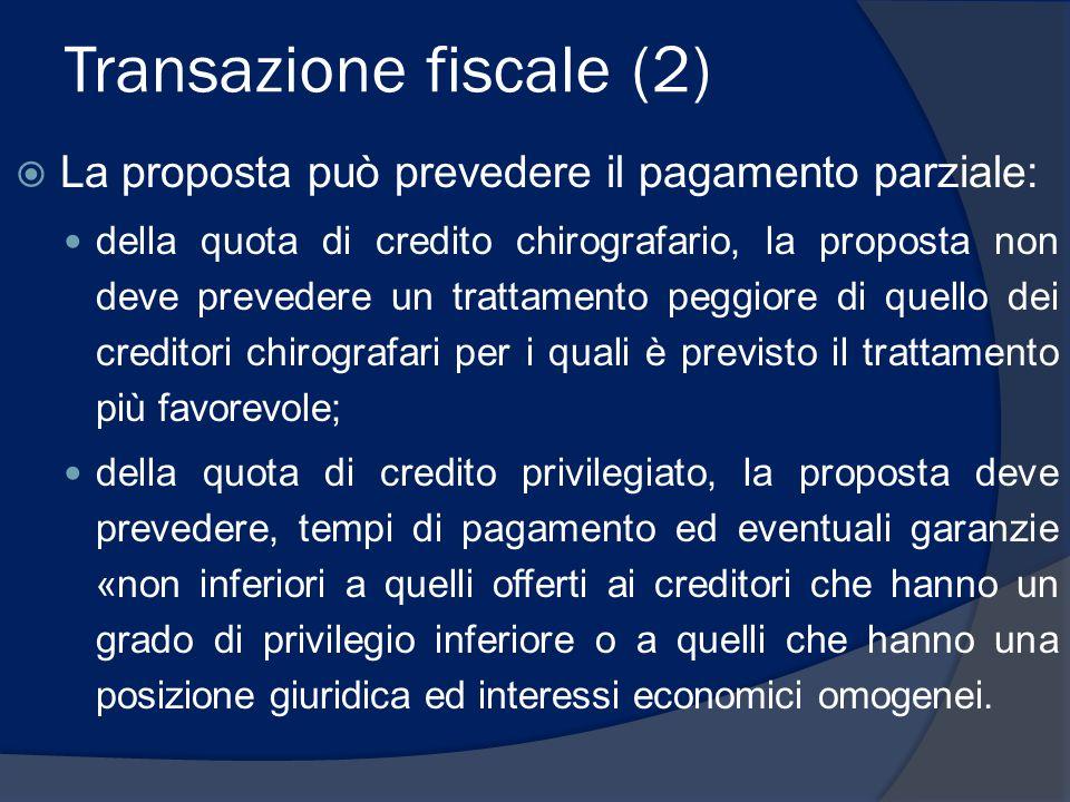 Transazione fiscale (2)