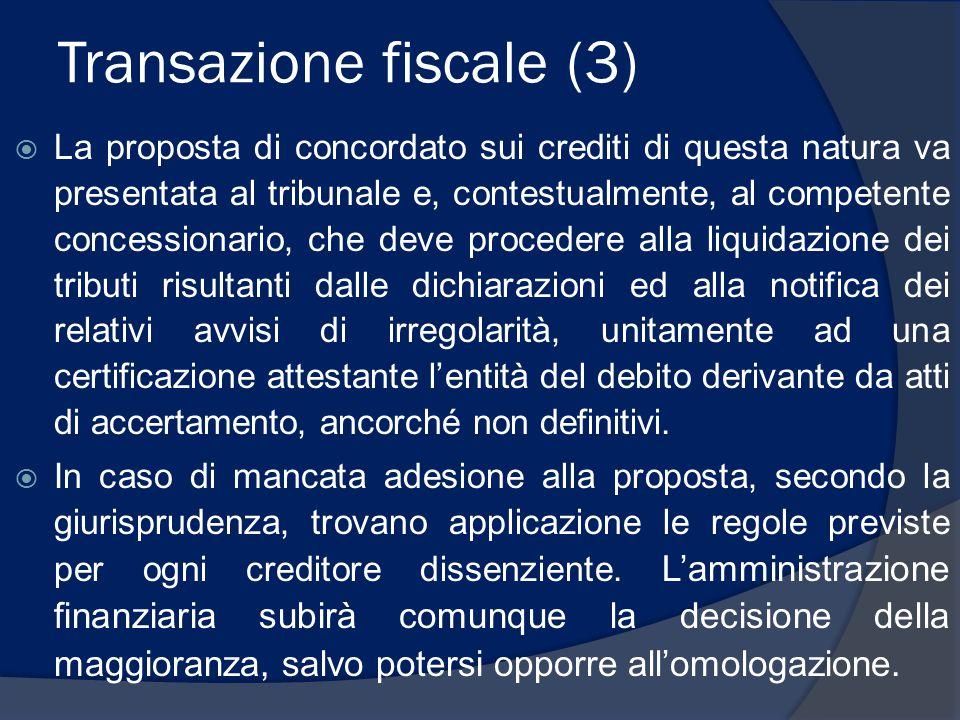 Transazione fiscale (3)