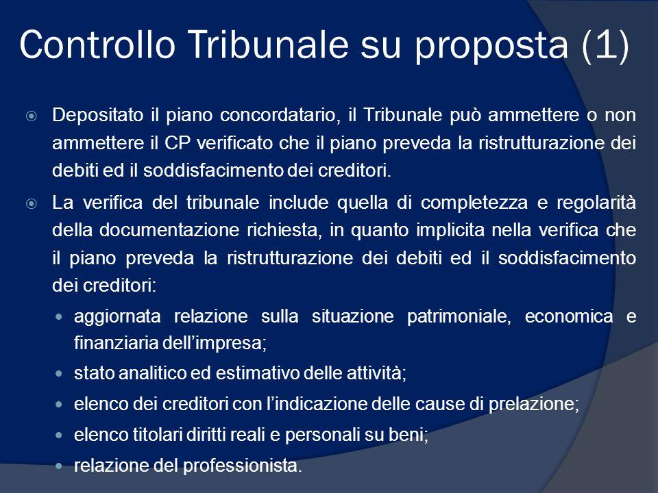 Controllo Tribunale su proposta (1)