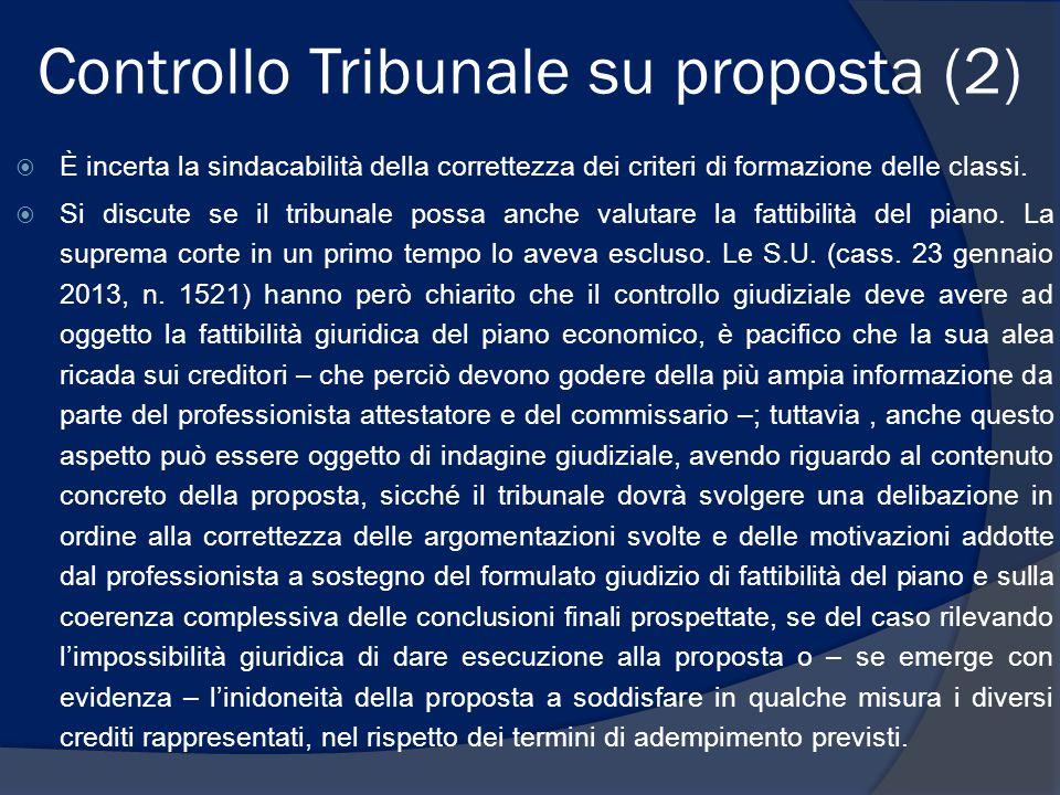 Controllo Tribunale su proposta (2)