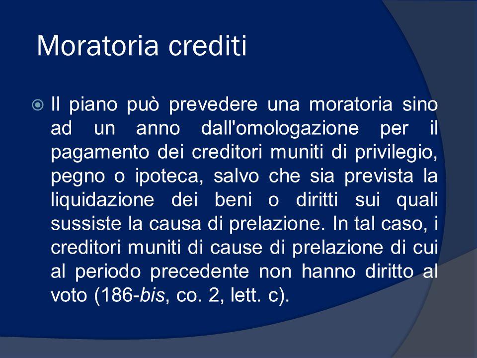 Moratoria crediti