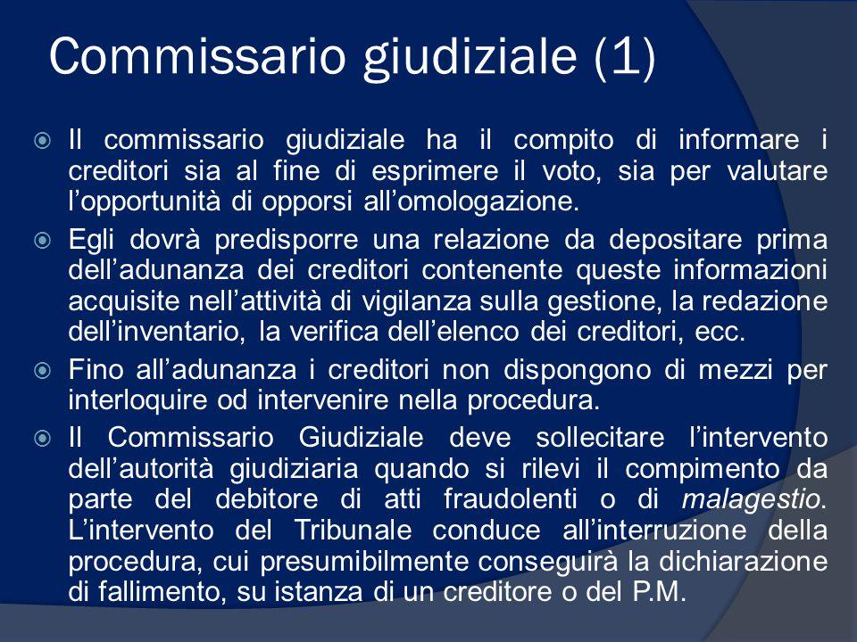 Commissario giudiziale (1)