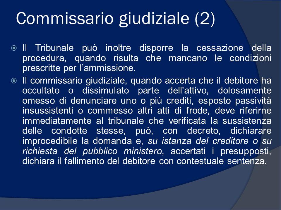 Commissario giudiziale (2)