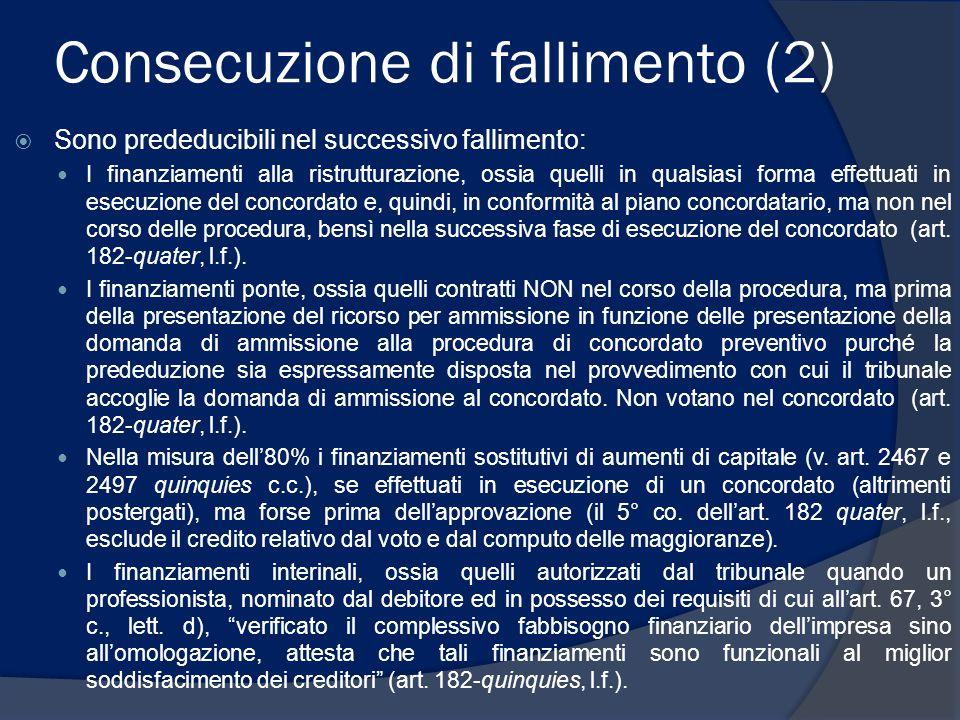 Consecuzione di fallimento (2)