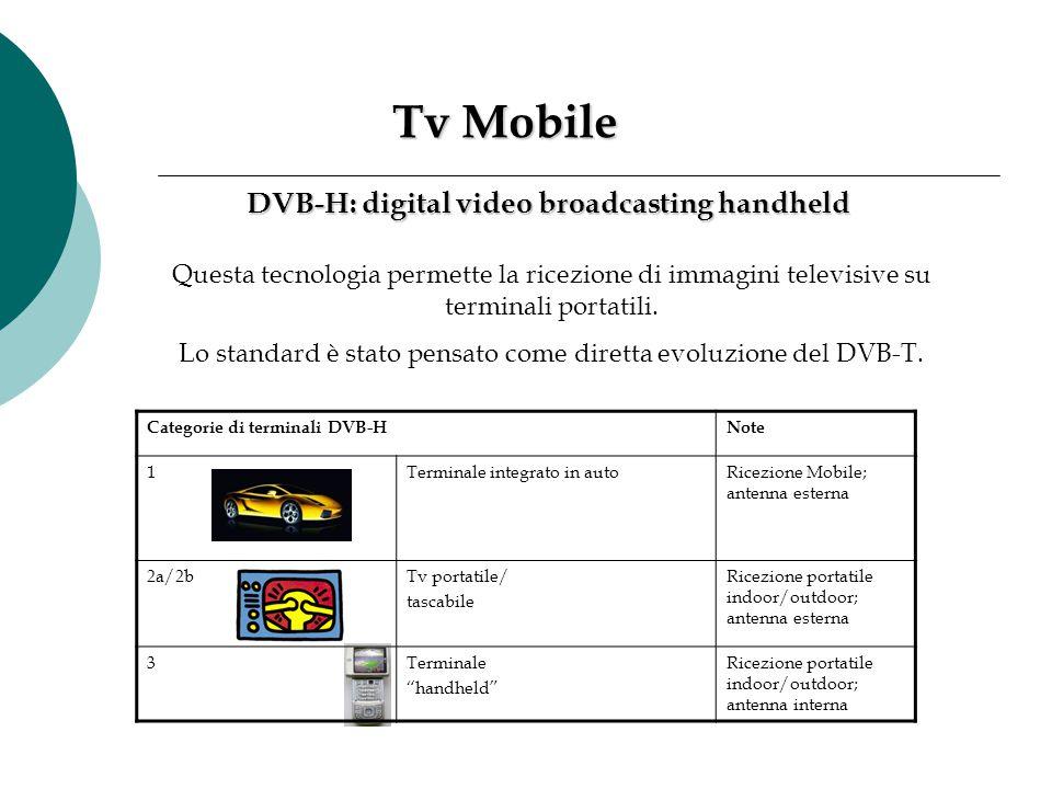 Lo standard è stato pensato come diretta evoluzione del DVB-T.