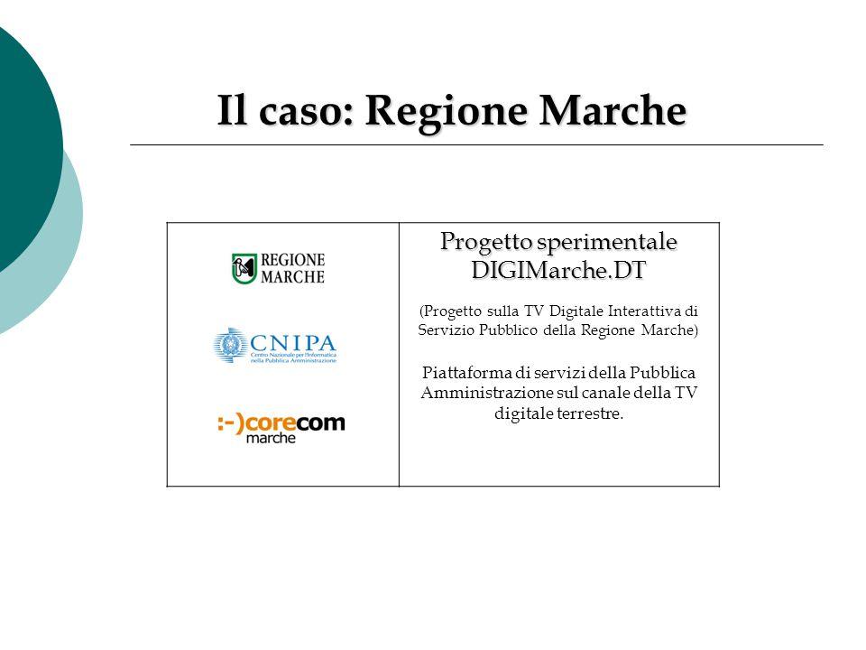 Il caso: Regione Marche