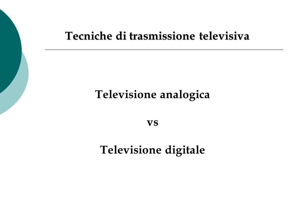 Tecniche di trasmissione televisiva
