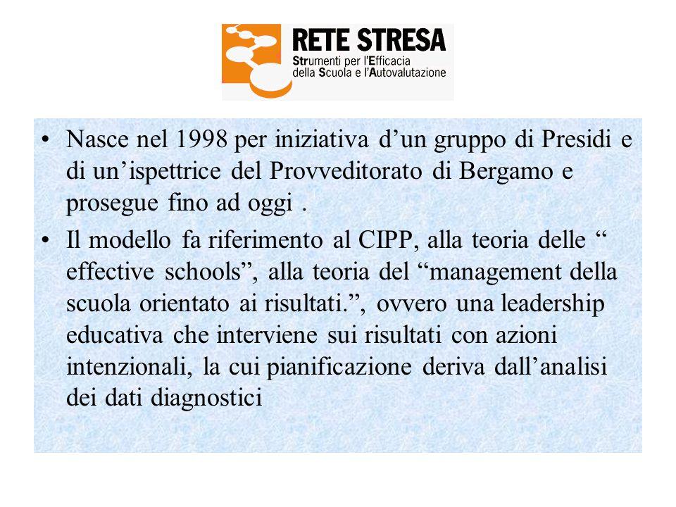 Nasce nel 1998 per iniziativa d'un gruppo di Presidi e di un'ispettrice del Provveditorato di Bergamo e prosegue fino ad oggi .