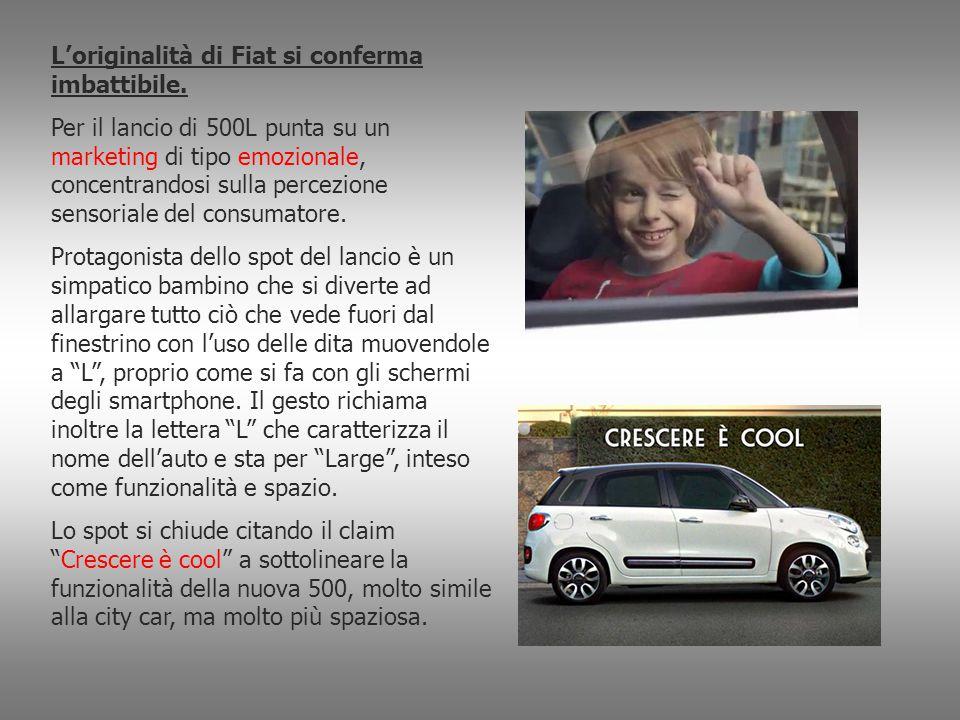 L'originalità di Fiat si conferma imbattibile.