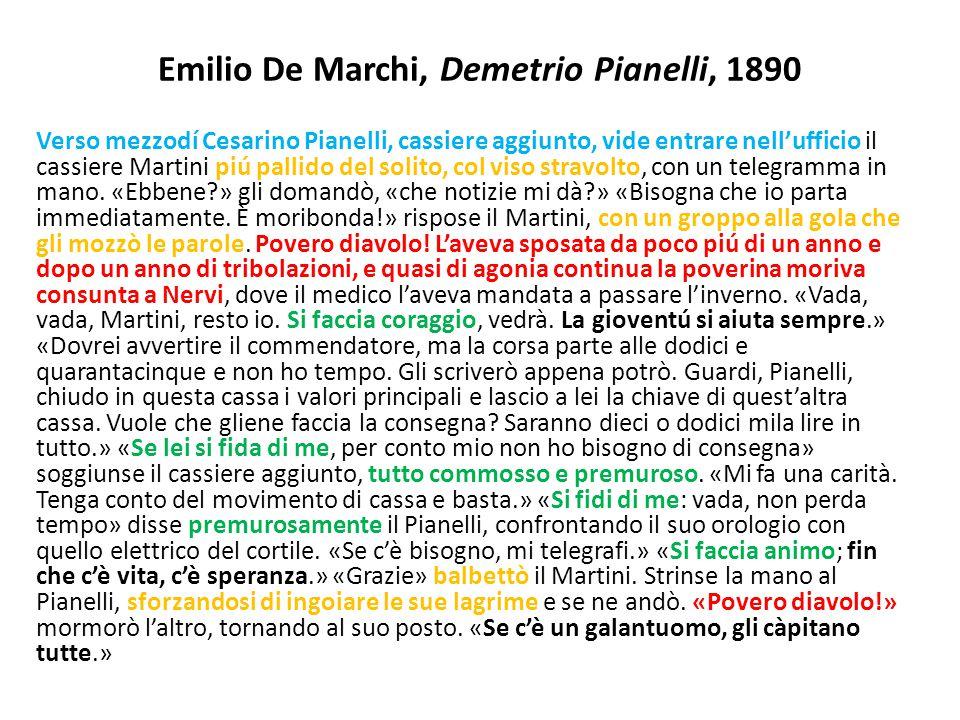 Emilio De Marchi, Demetrio Pianelli, 1890