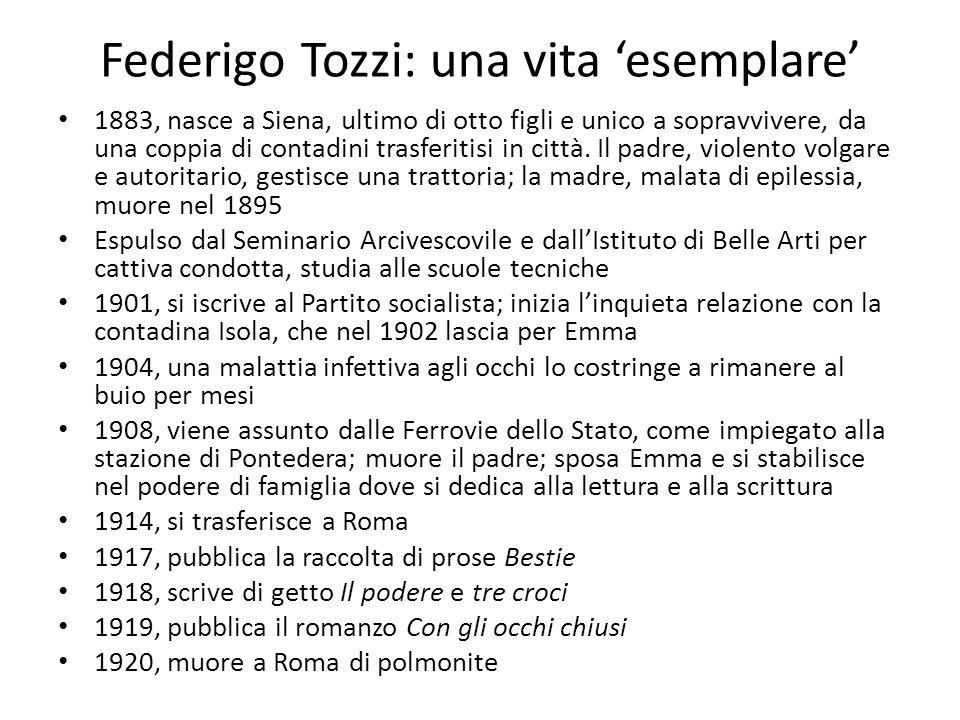 Federigo Tozzi: una vita 'esemplare'