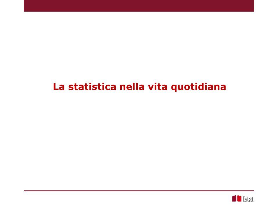 La statistica nella vita quotidiana