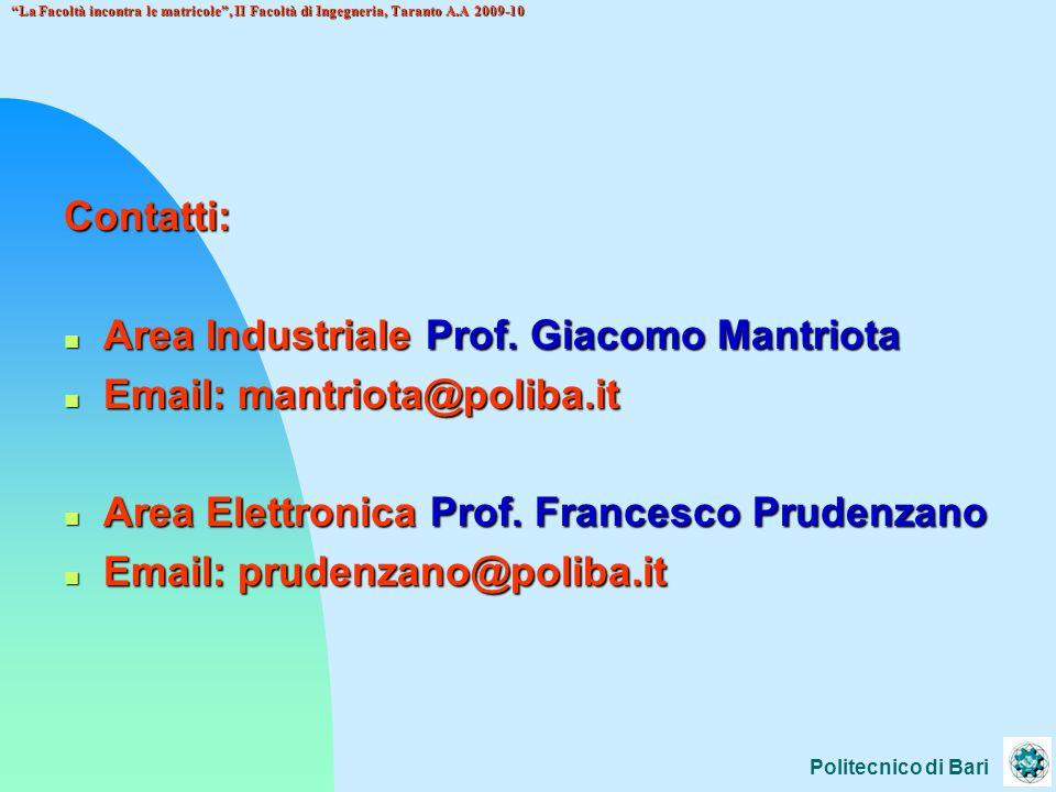 Area Industriale Prof. Giacomo Mantriota