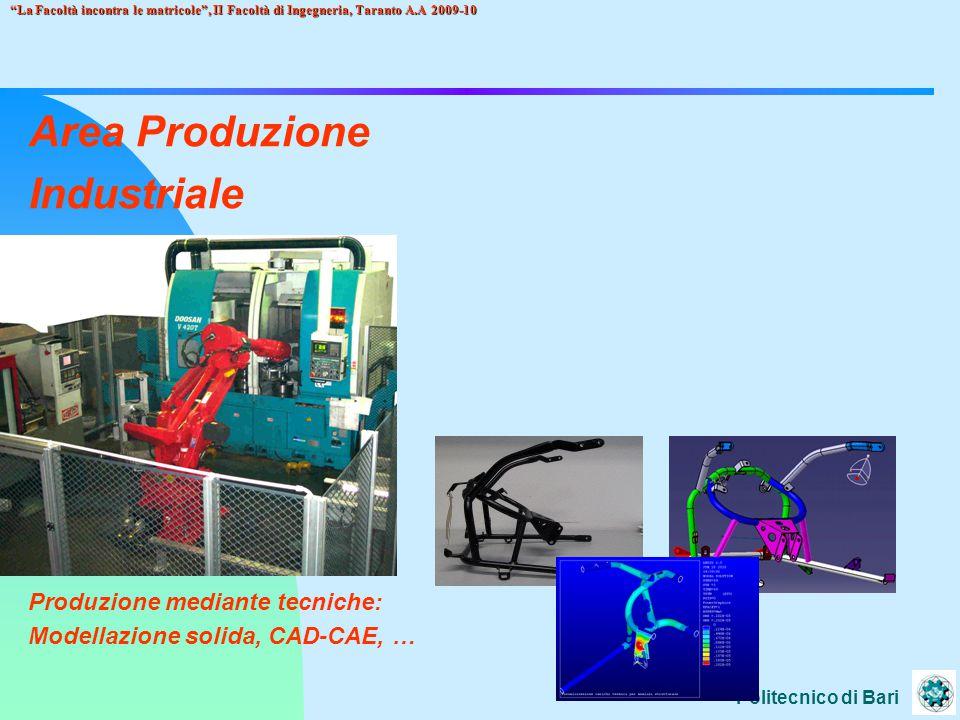 Area Produzione Industriale