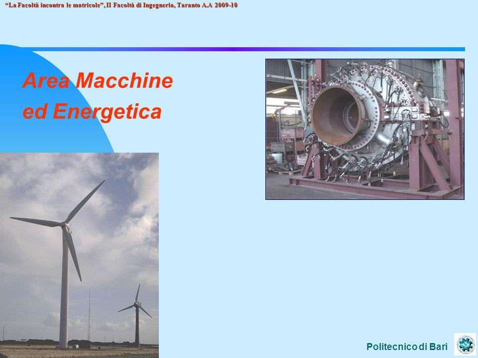 Area Macchine ed Energetica