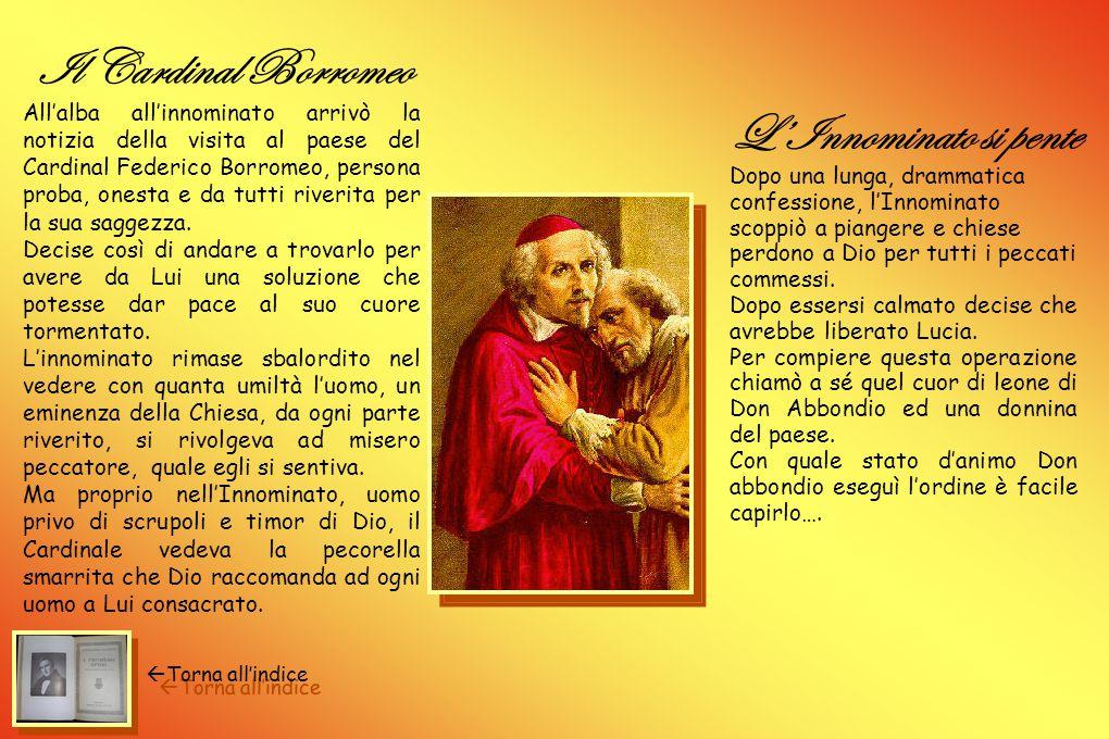Il Cardinal Borromeo L'Innominato si pente