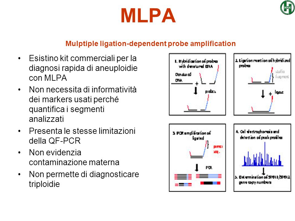 MLPA Mulptiple ligation-dependent probe amplification