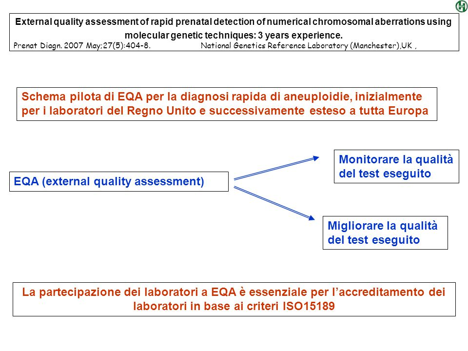 EQA (external quality assessment)