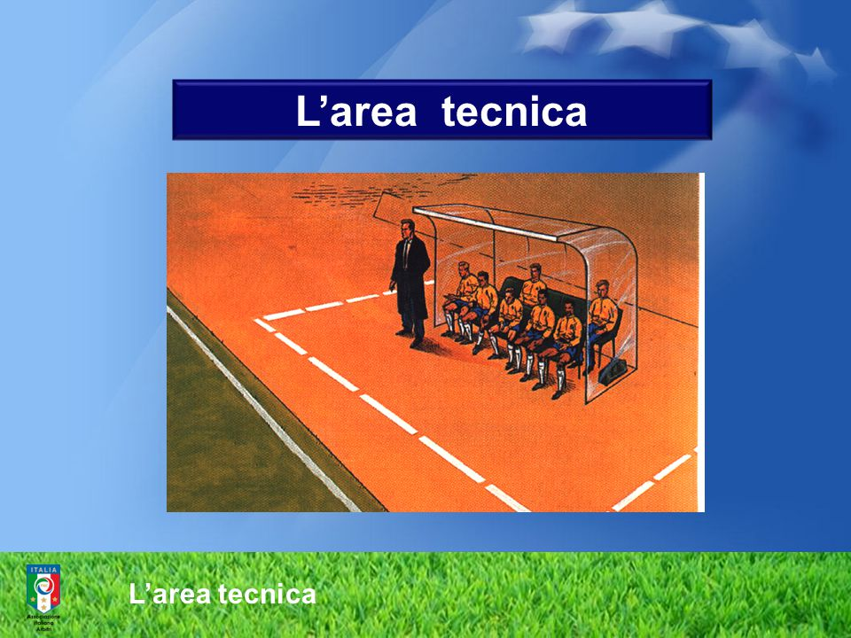 L'area tecnica L'area tecnica